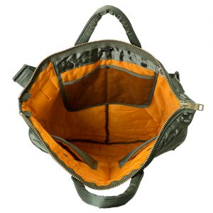 ポーター タンカーニュー PORTER TANKER NEW 2WAY ヘルメットバッグ トートバッグ ショルダーバッグ(622-68332)開閉
