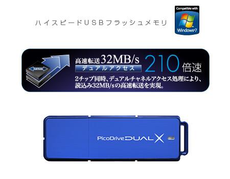 PicoDrive DUAL X GH-UFD16GDX