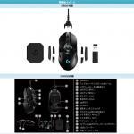 プロフェッショナルグレード ワイヤード ワイヤレス ゲーミング マウス G900