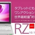 2in1 パナソニック 10.1 Let's note RZ5 2016年春