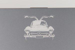 Mercedes-Benz x VAIO Z Vision 300SLの刻印
