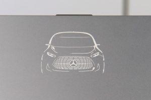 Mercedes-Benz x VAIO Z Vision Tokyoの刻印