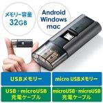 sanwa 600-CUSB32G_MDX