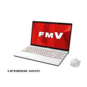 富士通 FMV LIFEBOOK AH53/D1 FMVA53D1W