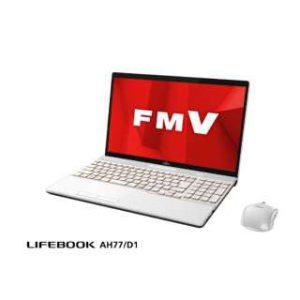 富士通 FMV LIFEBOOK AH77/D1 FMVA77D1W [プレミアムホワイト]