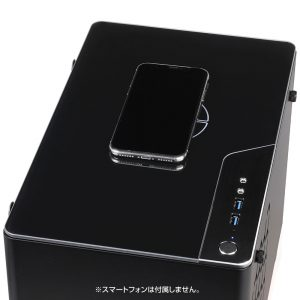 iiyama STYLE∞ C 天板のワイヤレス充電